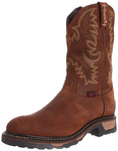 Tony Lama Men's Waterproof TW1018 Work Boot,Tan Cheyenne,10 D US