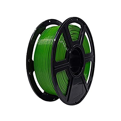 Flashforge PETG 1.75mm 3D Printer Filaments 1kg Spool-Dimensional Accuracy +/- 0.05mm for Finder and Creator Pro (Green)