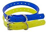 TrainPro Ersatz-Hundehalsband aus TPU-Kunststoff, mit Schnalle, 1,9 cm, kompatibel mit Garmin Dogtra SportDog Petsafe Petrainer PetTech und den meisten Trainings- und Zaunsystemen.