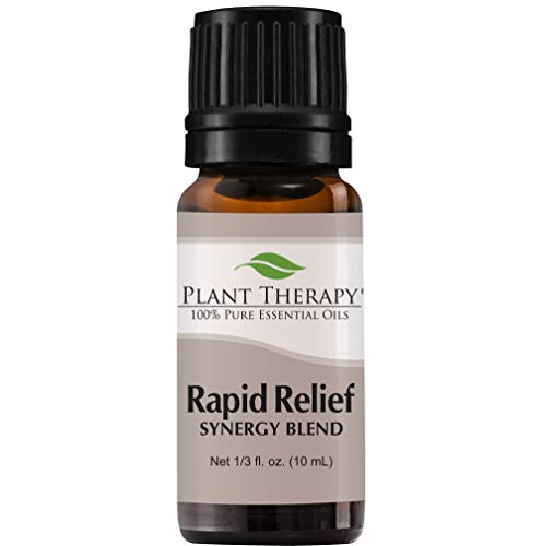 Plant Therapy Essential Oils Rapid Relief Synergy - Pain and Soreness...