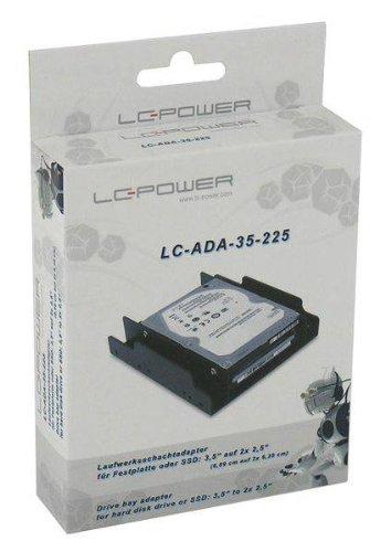 LC-Power Einbaurahmen 2x 2,5