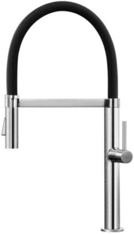 Taps Kitchen Sinktaps Mixer Swivel Faucet Sink 304 Stainless Steel Lifting Kitchen Faucet