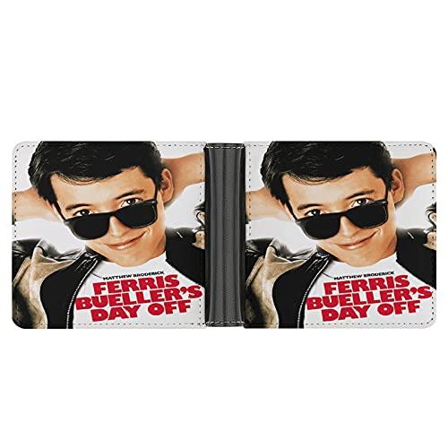 Ferris Bueller's Day Off Portefeuille en cuir PU pour cartes de crédit, espèces, etc