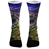 Elevate Apparel and Gear Fortnite Victory Royale Athletic Compression Socks   Dri-Fit Battle Royale Socks