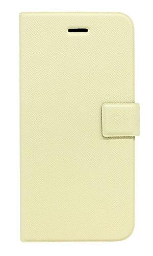 Fenice Diario Case Ultra dünne Klapptasche mit innovativer Magic Tape Halterung & Magnetverschluss für das Apple iPhone 6 / 6S - ivory