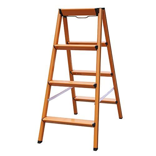 Stufenleiter, Haushalt Aluminium Schritt Hocker, Klappleiter, Eindickung Leiter Leiter Stabilität und Sicherheit (Size : 4 Steps)