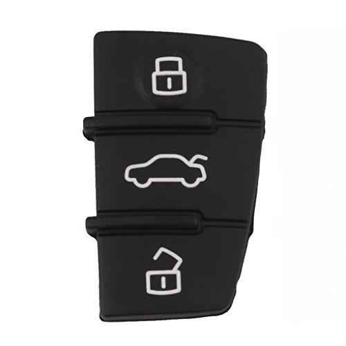 Cáscara Funda Llave Romota Reemplazo 3 Teclado Para Audi A3 A4 A5 A6 A8