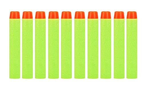 Weichschaum Darts Refill Bullet 100 Pack 7.2cm Nachfüllschaum Bullet Darts für Nerf N-Strike Elite Mega Centurion Kinderspielzeug