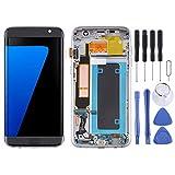 WANGZHEXIA Repuestos Galaxy Pantalla LCD de Material OLED y Conjunto Completo de digitalizador con Marco para Samsung Galaxy S7 Edge/SM-G935F