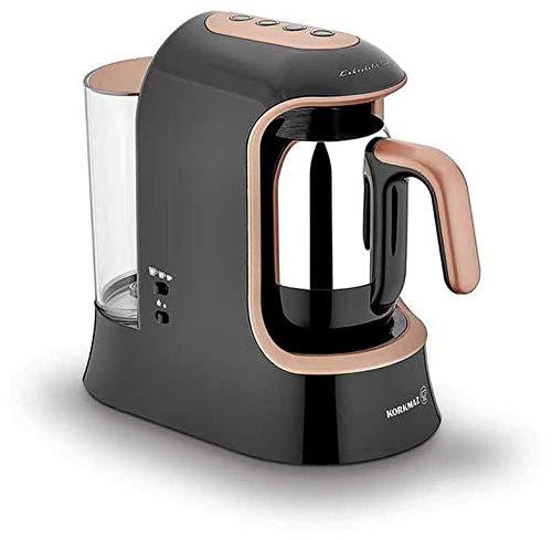 Korkmaz Kaffeekolik elektrischer Mokkakocher Espressokocher Aqua 700 W 4 Tassen Rosegold |