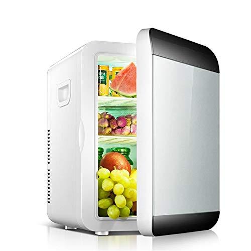 Neveran Auto Kühlschrank,Tragbar Haushalt 13,5 Liter Heizung Kühlung Auto Mini-Kühlschrank