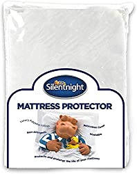 Silentnight quilted mattress protector, extra deep skirt A quilted mattress protector filled with layers of hollow fibre for extra comfort, protects and prolongs the life of your mattress Available with elasticated corner straps or fully fitted skirt...