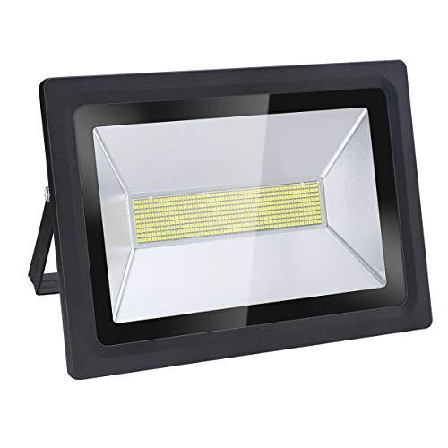 Faro LED & Luce di Sicurezza per Esterni, 150W, 12900LM, Bianco Caldo (3000K), Ultra Intenso, a Risparmio Energetico
