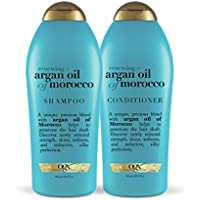 2-Pack OGX Renewing+ Argan Oil Morocco Shampoo & Conditioner 25.4 Oz