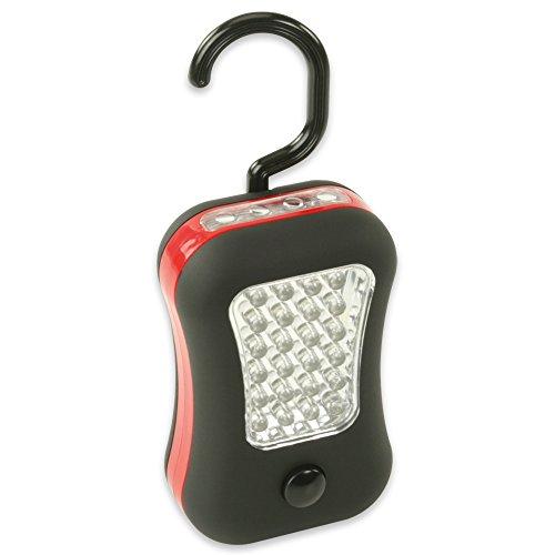 Ansmann 1600-0045-1 HyCell d'atelier 2en1 lumière d'inspection (Pleins Feux sur + Lampe de Poche), Noir