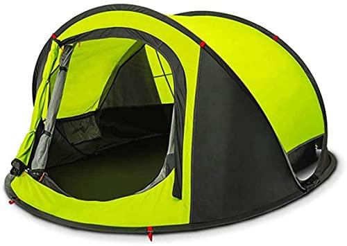 SHWYSHOP Tiendas para tienda de campaña Tienda de campaña Equipo de camping al aire libre Tienda de pesca Caminata Gazebo 3-4person Carpa automática