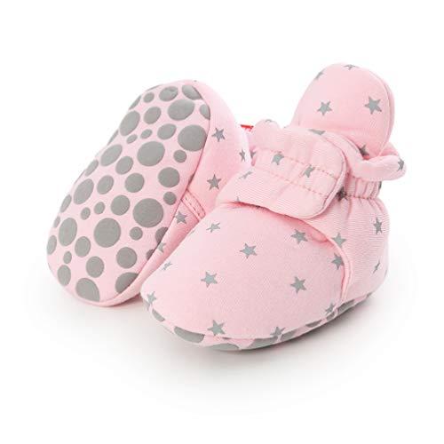 Botas de Niño Calcetín Invierno Soft Sole Crib Raya de Caliente Boots de Algodón para Bebés