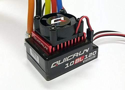 HobbyWing QUICRUN 10BL120 120A RC Sensored Motor ESC Speed Controller SL204