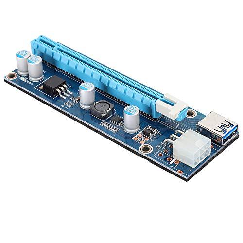 Adaptador Mini PCI-E 16x, Adaptador de Tarjeta Vertical Extensible con Cable de...