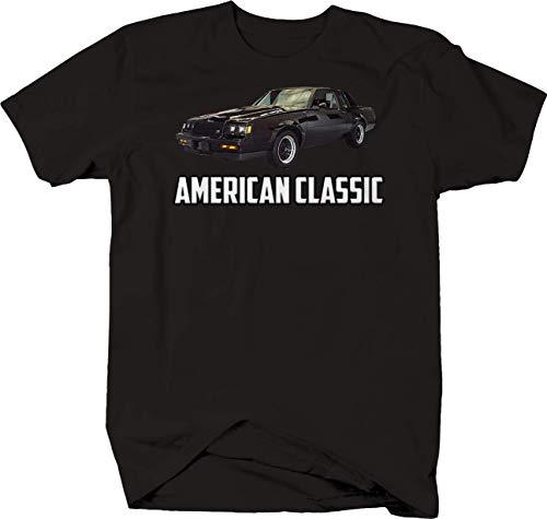 American Classic Buick Grand National Black Tshirt for Men XLarge