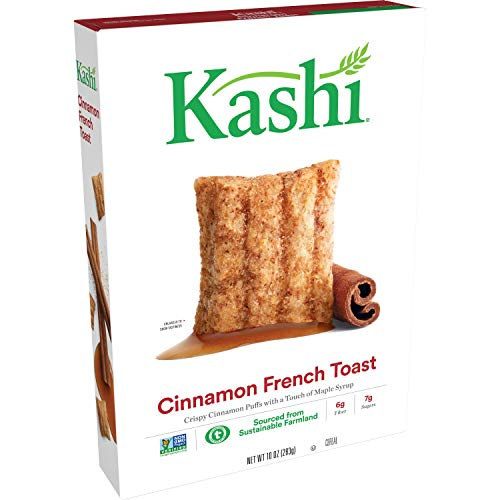 Kashi Cinnamon French Toast Breakfast Cereal - Non-GMO Project Verified, 10 Oz Box