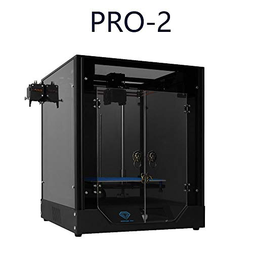 Kinen suitable 3D printer Suitable for beginners Aluminium Profile Frame Upgraded version of power failure continued to play rail BMG 235 * 235 large printing 3D printer qfwz (Color : Pro2)