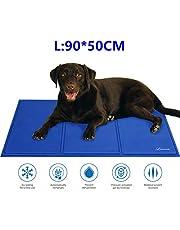 Lauva Kühlmatte für Hunde, selbstkühlende Gel-Matte für Haustiere, Katzen, Kühlbetten für Hundeboxen, Zwinger und Betten