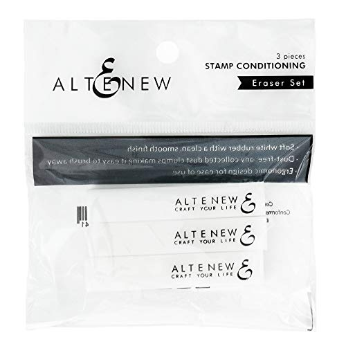 Altenew Stamp Conditioning Eraser Set, Dry Erase Ink Stamp Eraser, Crafter Tools, Paper Crafter, Stamp Ink Conditioner, Smooth Clean Finish for Stamping, How to Erase Stamp Ink from Paper