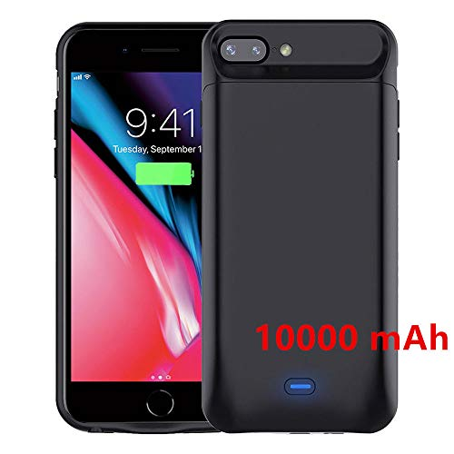 Coque Battrie 10000mAh pour iPhone 6/6s iPhone 7 iPhone 8 (4.7') Power Bank Chargeur Portable...