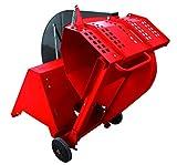 Scie à bûches - Scie circulaire - Scie à bois - Scie à bois - 400 V - 5200 W - Moteur électrique WS128