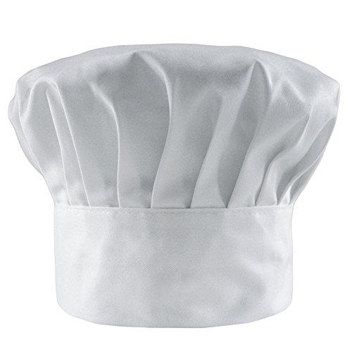 LOCOMO Chef Hat Cotton Poly Blend E…