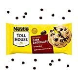 One bag of Nestle Toll House Dark Chocolate Chips Dark chocolate baking chips are perfect to add to chocolate chip cookies, brownies or pancakes Dark chocolate baking chips are made with 100% real chocolate and 53% cacao Enjoy our dark chocolate chip...
