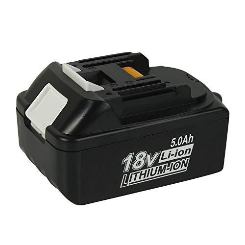 SHGEEN 18V 5.0Ah BL1850 Ersatz für Makita 18V Lithium-Ionen Akku, BL1830 LXT-400 BL1840 BL1815 BL1835 BL1845 194204-5 Geeignet für Elektrowerkzeuge