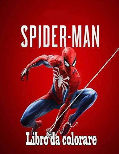 Spiderman libro da colorare