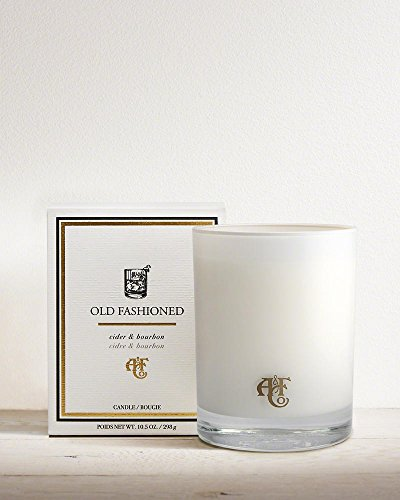 Abercrombie & Fitch Old Fashioned Scented Ted Candle Cider & Bourbon 285g