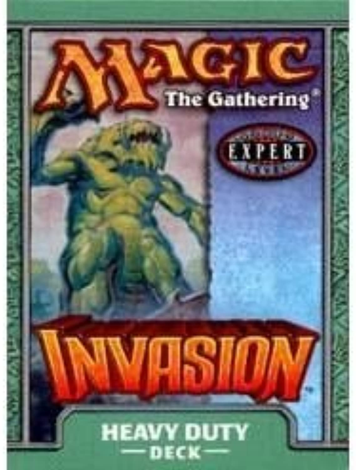 Magic the Gathering MTG Invasion Heavy Duty Theme Deck by Wizards