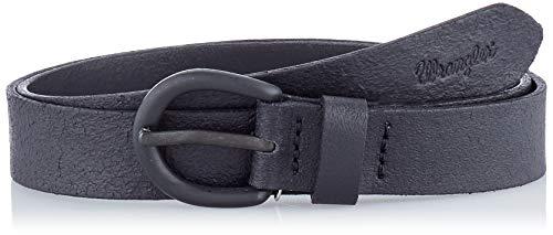 Wrangler Geo Belt Cintura, Nero (Black 100), 6 (Taglia Produttore: 90) Donna