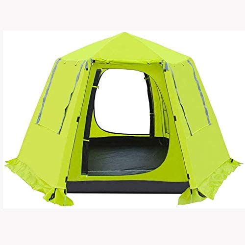 TWDYC Portable Family Tents Automatic Pop Up Camping Tent Protection Easy Set Up Dome Tent Waterproof Backpacking Tents Sun Shelter
