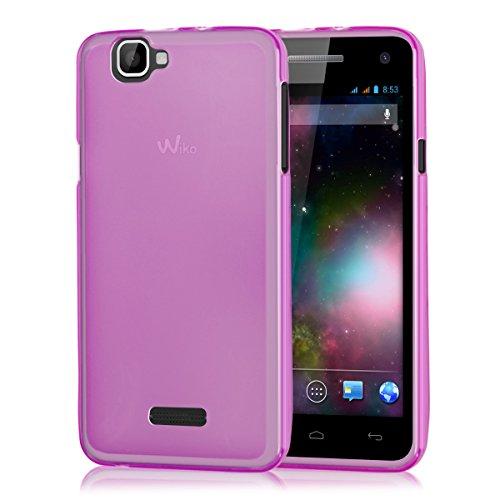 kwmobile Wiko Rainbow 3G / 4G Hülle - Handyhülle für Wiko Rainbow 3G / 4G - Handy Case in Pink