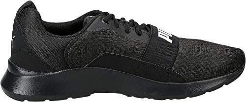 PUMA Wired, Zapatillas Unisex Adulto, Negro Black Black
