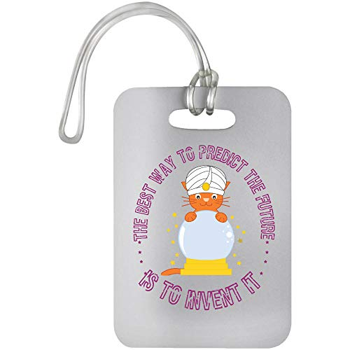Osborna Arrt The Best Way to Predict The Future is Co Invent It Luggage Bag Tag