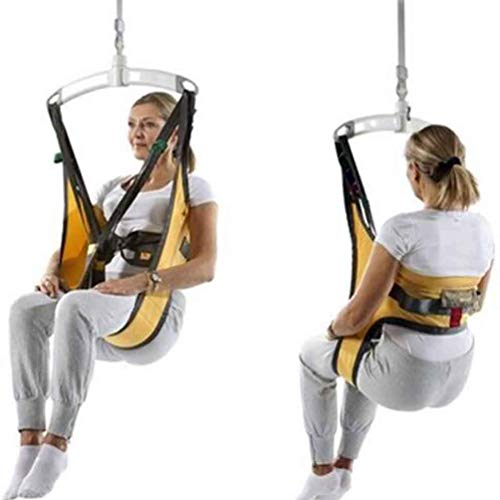 JM-D Ganzkörper-Patientenlifter Sling Treppenrutsche Transfergurt, Medium Toileting Sling Notevakuierung Stuhl Auf Und Ab, Für Bariatric Handicap Ältere