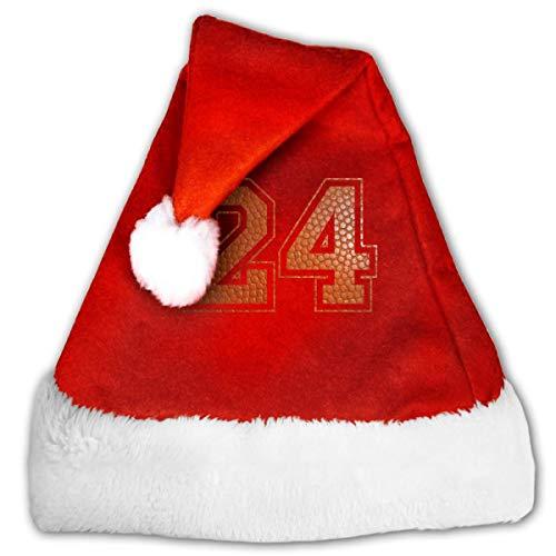Mxung Sombrero de Papá Noel Sombrero de Navidad de Terciopelo, Bola Sombreros de Navidad Rojos Sombrero de Navidad para Navidad Fiesta Festiva de Año Nuevo