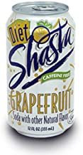 Shasta Diet Grapefruit Soda, 12-Ounce Cans (Pack of 24)