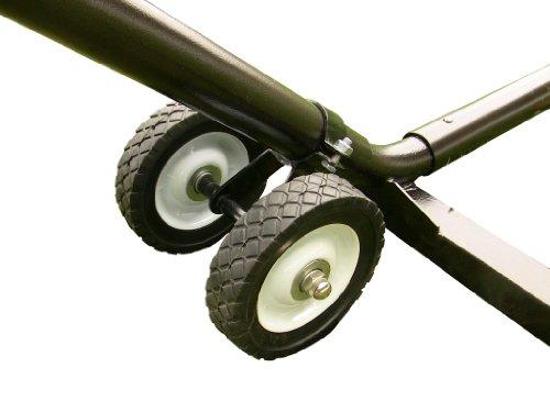 Vivere WHEEL Hängemattengestell Räder Set, Weiß