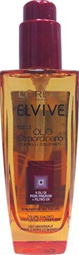 ELVIVE Huile extraordinaire, pour cheveux, colorés, 100 ml