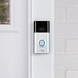 Ring Video Doorbell 2 | Videocitofono in HD a 1080p, comunicazione bidirezionale, rilevazione di movimento, connessione Wi-Fi
