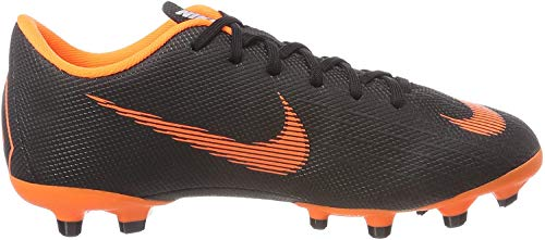 Nike Unisex-Kinder Jr. Mercurial Vapor XII Academy MG Fitnessschuhe, Mehrfarbig (Black/Total Orange-W 081), 37.5 EU