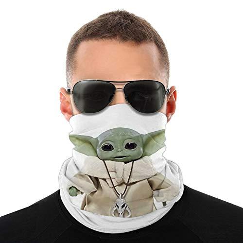 Star-Wars Yo-Da - Braga para el cuello con protección UV para la cara, pañuelo para el cuello, pasamontañas