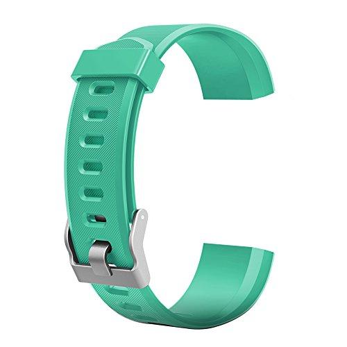 Demiawaking Armband Ersatz Zubehör für ID115Plus HR Smart Watch (Grün)